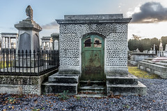 Mount Jerome Cemetery & Crematorium is situated in Harold's Cross Ref-100476 (infomatique) Tags: ireland dublin cemetery graveyard europe victorian streetphotography monuments gravestones touristattraction mountjerome streetsofdublin infomatique mountjeromedec2014infomatique