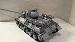 IS-3 Tank (QuarterTheVillain) Tags: tank lego military wwii soviet russian redarmy josephstalin is3