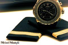 Aviator Life (MoeenMustafa) Tags: airplane aviation watch strip aviator pilot breitling