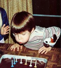 SCAN0385 (benjamin scott) Tags: birthday cake candles ben