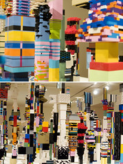 Towers (gunstreet.girl) Tags: art vancouver diptych lego douglascoupland vancouverartgallery