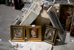 """""""Another Special Offer - Hurry While Stocks Last's!"""" (MMU Visual Resources) Tags: art manchester frames markets paintings reproductions wythenshawe"""