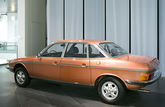 1977 NSU Ro80 (faasdant) Tags: orange car museum germany automobile forum engine claus audi 1977 rotary nsu ro80 ingolstadt luthe