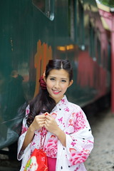 DSC09210 (rickytanghkg) Tags: portrait beautiful beauty female train asian japanese model outdoor sony chinese railway hong kong belle a7r
