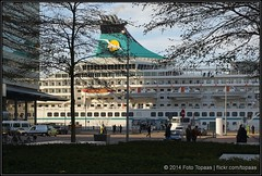 2014-12-14 Rotterdam - Artania - 6 (Topaas) Tags: rotterdam kopvanzuid wilhelminapier hollandamerikakade phoenixreisen artania sonya77 sonyslta77 sonyslta77v mvartania