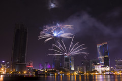 2015-01-01 (SilverLight8790) Tags: new eve canon eos long exposure year january firework vietnam t3 saigon 2015 1100d