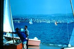 5-15-1960- Sailing (foundslides) Tags: pictures ca usa color colour vintage photo pix photos kodak pic retro 1950s 1960s kodachrome slides foundslides oldphotos photgraphy redborder johnrudd irmalouiserudd irmaluoiserudd johnhrudd
