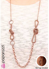 5th Avenue Copper Necklace K1 P2445-3