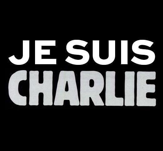 Je suis Charlie.hommage aux victims de lattentat contre Charlie Hebdo
