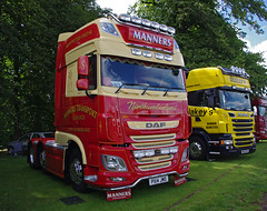 Manners Transport of Alnwick DAF XF PX14JWO (andyflyer) Tags: alnwick 2014 truckfest dafxf truckfestscotland mannerstransport truckfestscotland2014 px14jwo