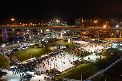 Canalside Ice Rink in Buffalo