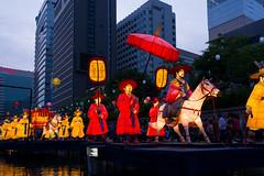 Cheonggyecheon Lanterns (Skagos26) Tags: city travel tourism festival night lights nikon asia stream culture buddhism seoul lanterns southkorea jongno cheonggyecheon 1024mm