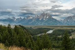 Snake River and the Tetons (greggohanian) Tags: snakeriver grandtetons tetons