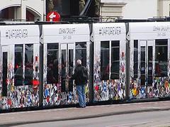 Johan Cruijff tram (streamer020nl) Tags: holland netherlands amsterdam nederland paysbas centrum niederlande 2016 binnenstad 180516