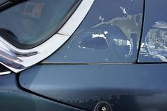 RH front detail of the clearcoat drama (Pim Stouten) Tags: auto car restore vehicle jag restoration xjs jaguar macchina coup restauratie wagen pkw vhicule