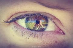_04_6220-Modifica-2 (Simone Villani 7D) Tags: portrait macro green eye colors closeup canon eos 50mm reflex 7d occhio beautifull specchio littleworld picoftheday higiso tubiprolunga