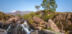 Cool runnings (SiKenyonImages) Tags: mountain water wales waterfall rocks stream snowdonia tryfan runoff northwales cwmidwal a55 llynidwal