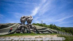Torch (DeSjnIs) Tags: leica travel monument architecture europe bluesky ufo communism bulgaria flyingsaucer balkan 18mm superwideangle ultrawideangle m240 f38 leicam ufobuilding 11637 buzludzha superelmar buzlua thebuzludzhamonument