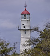 Diamond Head Lighthouse (D70) Tags: lighthouse june island was coast is state head united guard places historic diamond stamp national honolulu register states facility 1980 postage listed 2007 the located featured hawaii oahu