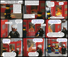 League of Heroes: Ascent   Episode 3: Darkest Before Dawn - Part 4 (jgg3210) Tags: blue comics dawn bay comic lego von cell before prison jail comicbook superhero warden bettie ascent bombshell blitzen loh minifigure darkest supervillain minifigures leagueofheroes bricklyn