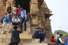 Khajuraho (photomukul) Tags: architecture ancient khajuraho madhyapradesh chandela worlheritage