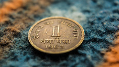 Naya Paisa (the1337est) Tags: old money color macro classic vintage coin nikon colorful coins indian indoor retro product paisa nikon1855mm d5200 nikond5200
