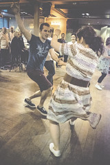 DSCF0692 (Jazzy Lemon) Tags: party england music english fashion vintage newcastle dance dancing britain style swing retro charleston british balboa shag lindyhop swingdancing decadence 30s 40s newcastleupontyne 20s 18mm subculture hoochiecoochie collegiateshag jazzylemon sundaynightstomp fujifilmxt1 may2016