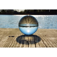 Blick durch die Kugel (Nikonfotografie) Tags: see nikon fineart kugel crystalball nikonphotography throughthecrystalball detailverliebt kugelbilder meinnorden kugelfotographie