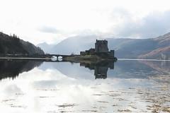Eilean and Donan castle (hazelsoo) Tags: castle scotland highlands scenery isleofskye highland eilean donan moviescene watereflection eileananddonan