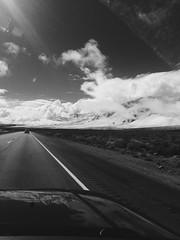 240947a2369a671c161aa8906fd3a2f7 (danielnieves1) Tags: california bw mountains clouds driving 395 iphone