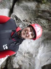 P1120391 (Mountain Sports Alpinschule) Tags: blue mountain sports lagoon canyoning zillertal zemmschlucht alpinschule