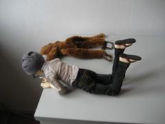 Plain Day 005 (EmpathicMonkey) Tags: toby ball toys happy monkey photo dolls olive story bjd jointed bluefairy