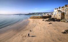 Bamaluz Beach, St Ives, Cornwall (Baz Richardson) Tags: coast cornwall stives sandybeaches bamaluzbeach
