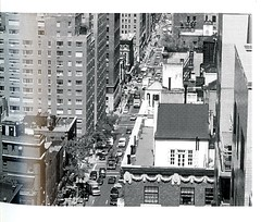 Aerial View of Lexington Avenue (Hunter College Archives) Tags: yearbook aerialview 1999 hunter lexingtonave huntercollege wistarion thewistarion