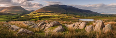 Blencathra (Dave Fieldhouse Photography) Tags: summer panorama mountain lake clouds landscape outdoors evening countryside nationalpark rocks wide lakes lakedistrict wideangle cumbria fells grasses 31 keswick earlysummer eveninglight blencathra stitchedpanorama lancashirelife tweettarn