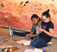 Girl Scouts in Cedar Mesa (BLMUtah) Tags: park heritage history archaeology girl field office kid education respect pueblo culture every cedar scouts learning monticello mesa artifacts protect