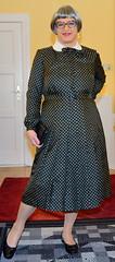 Ingrid022420 (ingrid_bach61) Tags: dress mature kleid pleatedskirt faltenrock
