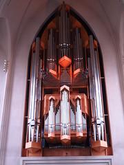 Organ at Hallgrimskirkja (Ole Husby) Tags: church iceland hallgrimskirkja reykjavik organ sland orgel kirke img0438