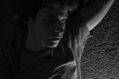One of Those Moods (TNMYcFan182) Tags: experimenting experiment contrast shadows blackandwhite bw portrait portraits selfie selfportrait fujifilm fujixpro1 fujifilmxseries xpro1 voigtlander vintage vintageglass monochrome