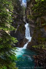 Johnston Canyon (AncasterZ) Tags: rockies canyon waterfalls rockymountains canadianrockies johnstoncanyon