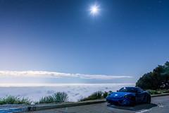 Night Light (kian|ski) Tags: losangeles nightshot porsche d750 sapphireblue mtwilson caymans mountwilson 981