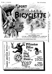 1896-05-14. Le Vloce-sport - organe de la vlocipdie franaise 0 (foot-passenger) Tags: velocesport france bicycle franais bibliothquenationaledefrance 1896  frenchmagazine bnf gallica
