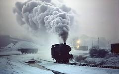 DH - BICKERSHAW 2 (derek46240) Tags: snow steam lancashire warrior leigh ncb bickershaw