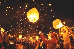 And at Last I See the Light (_jonchinn) Tags: light sky people love philadelphia beautiful festival night stars fire glow candle pennsylvania go crowd it pa event romantic lantern lit fest let breathtaking tangled mohnton