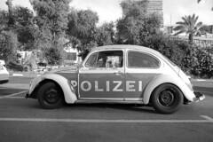 Polizei (Ilya.Bur) Tags: olympus om1 zuiko 28mm f35 fuji neopan acros 200 caffenol cl film analog bw blackwhite vintage vw volkswagen bug beetle