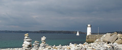 Camaret (Pixelist) Tags: voilier sailingboat phare lighthouse mer sea rivage shore brittany camaret