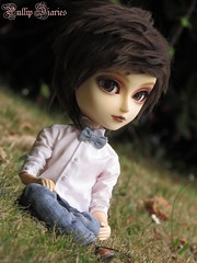 Ethan Wate  (Little Queen Gaou) Tags: doll taeyang fc full custo ethan wate butler beautiful creatures sublimes cratures books 16lunes lena garden