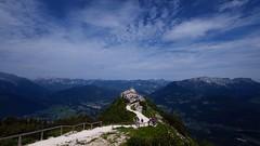 Postcard from Kehlsteinhaus (jarnasen) Tags: copyright house mountain alps germany landscape bavaria berchtesgaden view top perspective tourist kehlsteinhaus xt1 fujifilmxt1 xf1024mmf4 jarnasen jrnsen