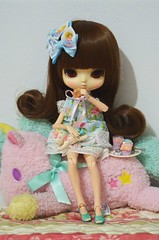 Day 3 Moka (mari.furtado) Tags: yeolume podo doll kawaii sanrio rement miniature little twin stars room unicorn plush