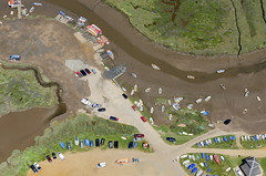Morston Quay - National Trust (John D F) Tags: morston quay blakeney nationaltrust aerial aerialphotography aerialimage aerialphotograph aerialimagesuk aerialview airtoground droneview beansboats templessealtrips bishopsboats sealtrips